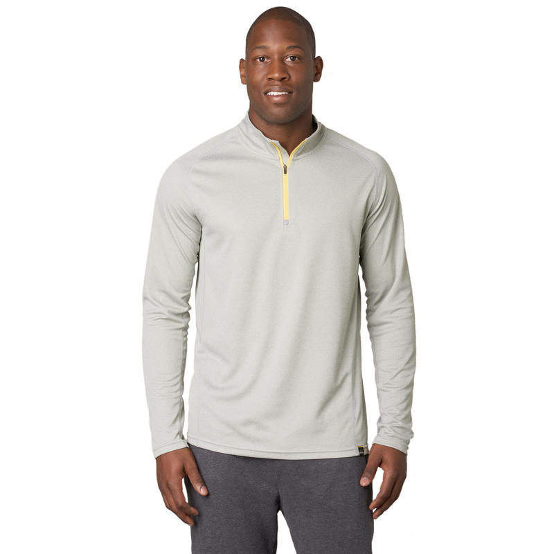 Orion 1/4 Zip Silver