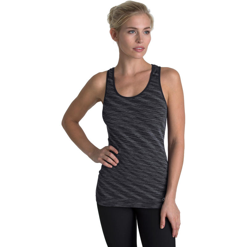 Solice Seamless Tank Charcoal Combo