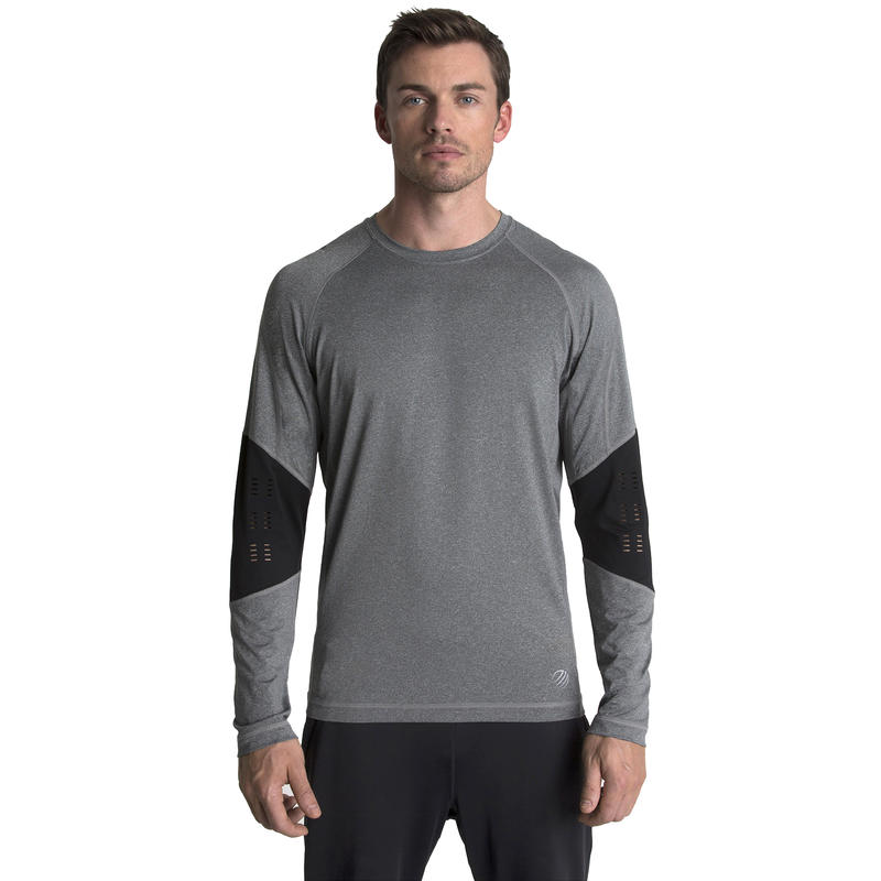 Charged Long Sleeve Heather Charcoal
