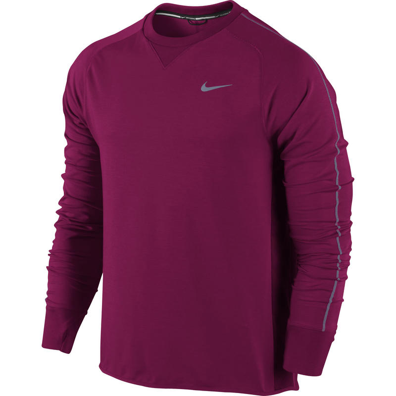 Dri-Fit Sprint Crew Dark Fireberry