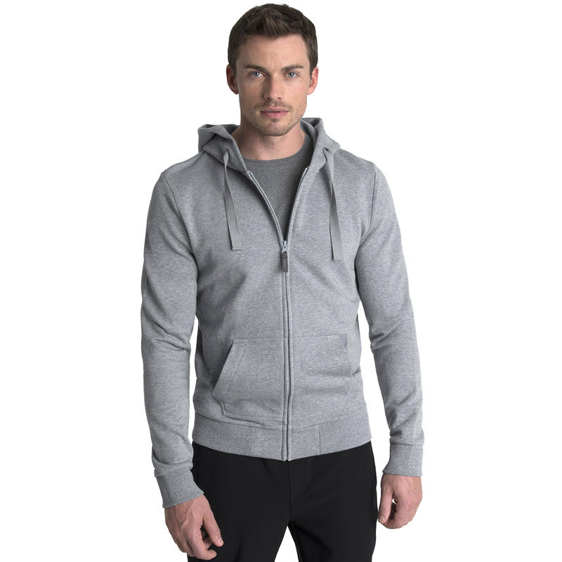 Integral Hoodie Heather Ash Grey