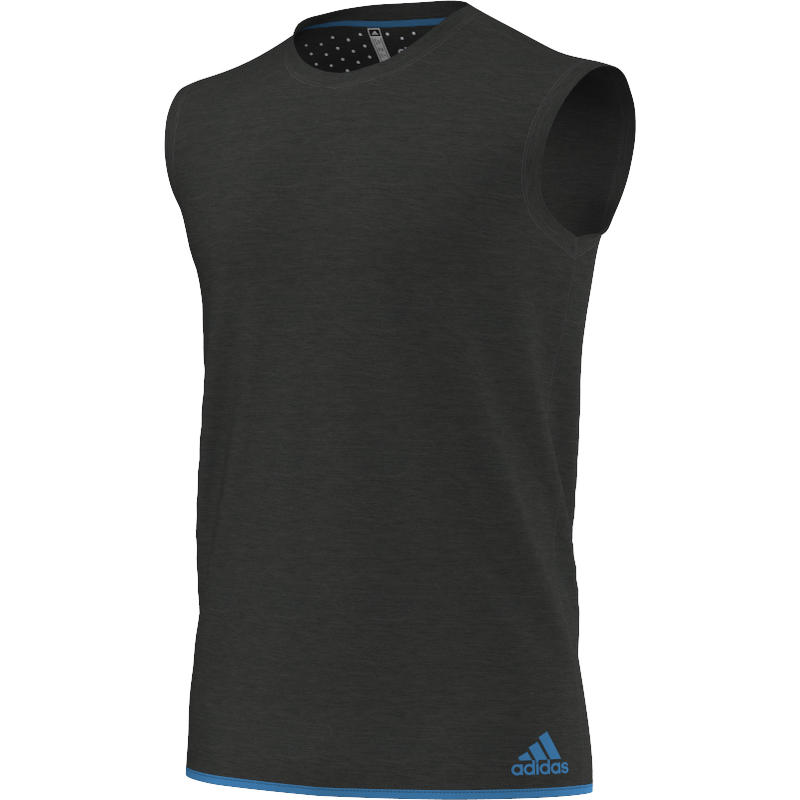 Climachill Sleeveless Chill Black Melange/Chill Blue
