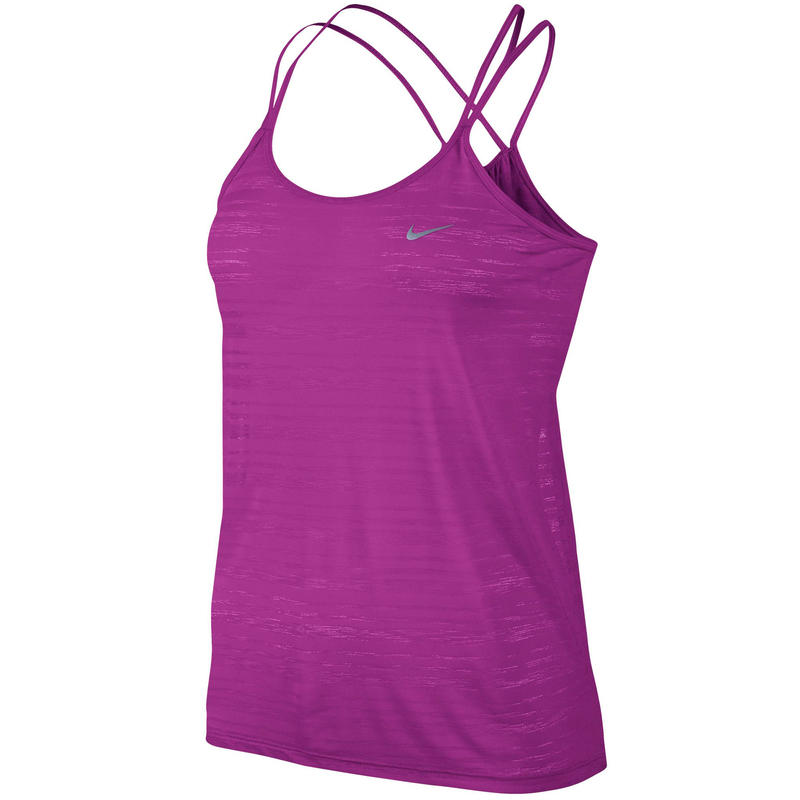 DF Cool Breeze Strappy Tank Fuchsia Flash