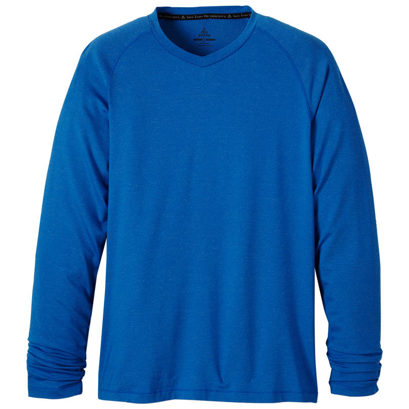 Breaker Long Sleeve V-Neck Classic Blue