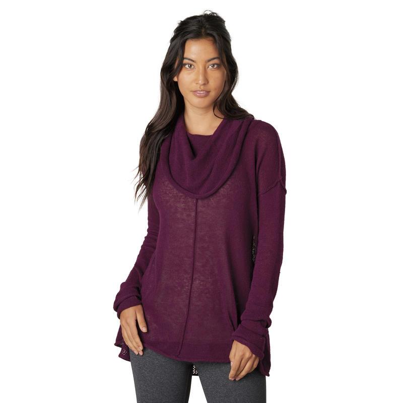 Minou Sweater Black Plum