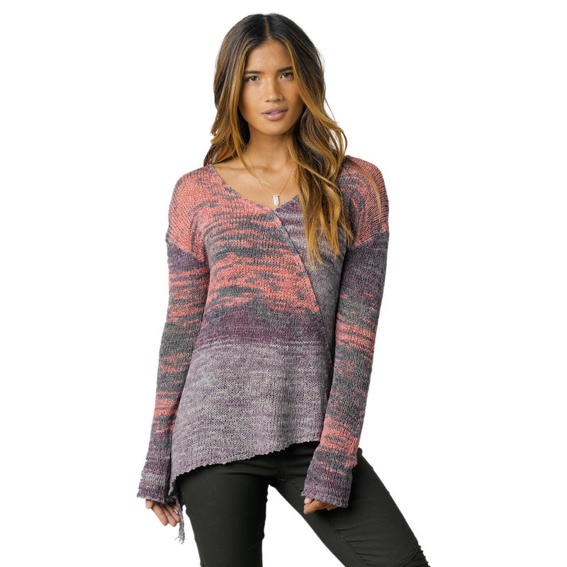 Vignette Sweater Purple Tart