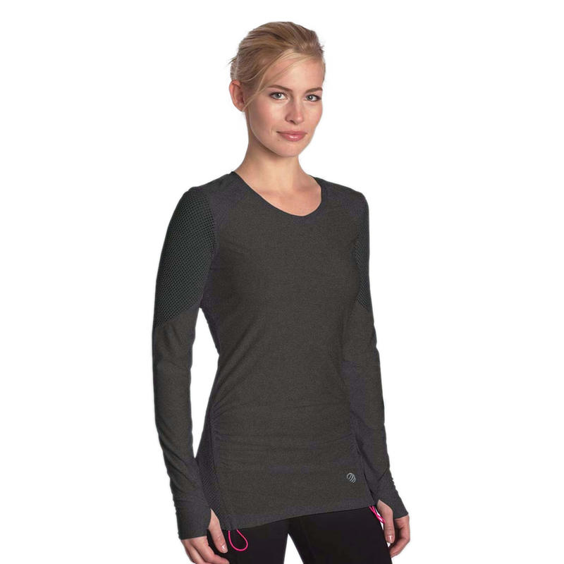 Continuity Long Sleeve Heather Charcoal