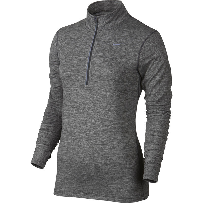 Dri-Fit Element Half Zip Dark Grey/Heather