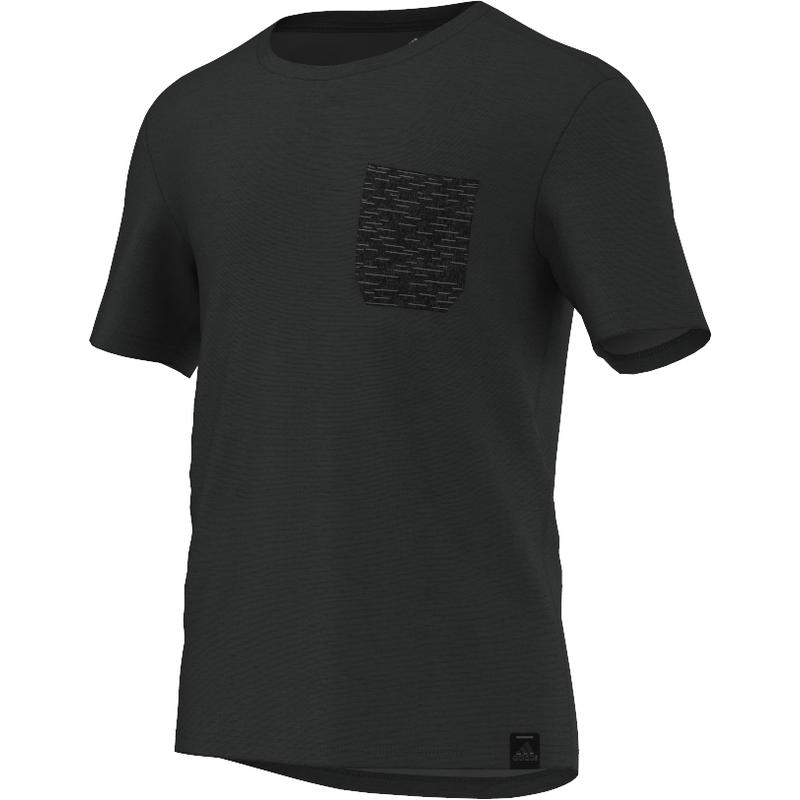 Standard 1 Pocket Short Sleeve Dark Grey Heather Solid Grey/Black