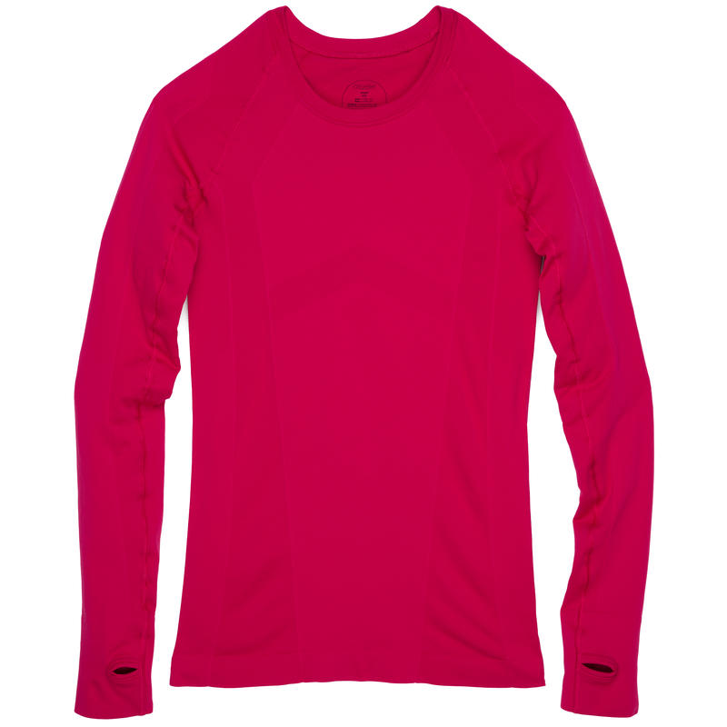 Wazelle Long Sleeve Top Deep Rose