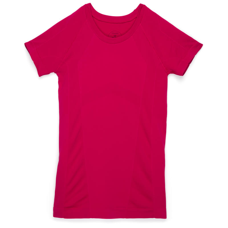 Wazelle Short Sleeve Top Deep Rose