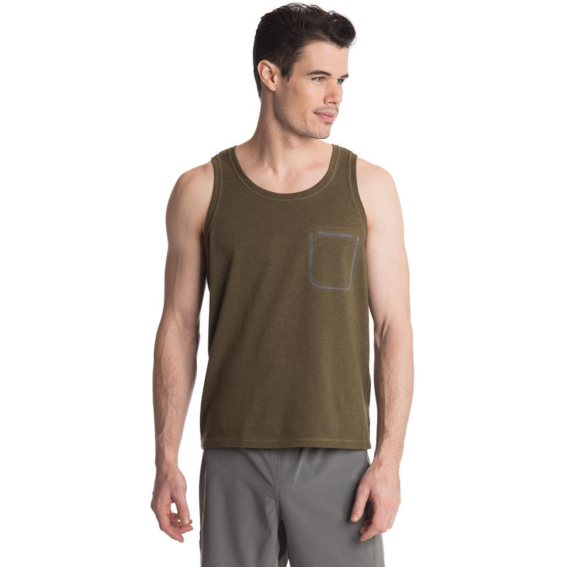 Rogue Tank Dark Olive Heather