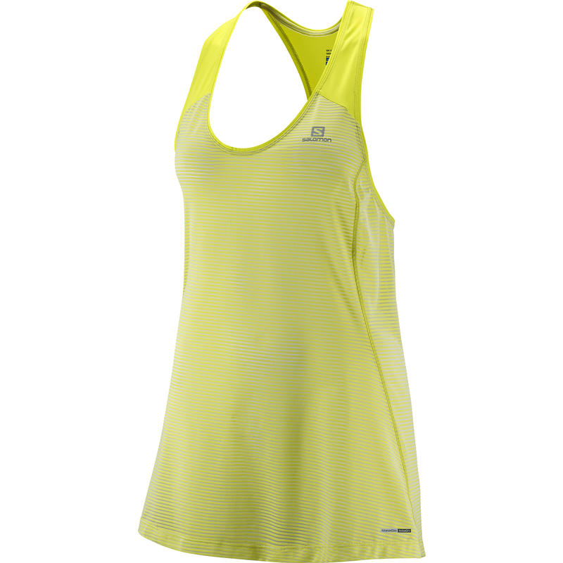Elevate Tank Tunic Yuzu Yellow