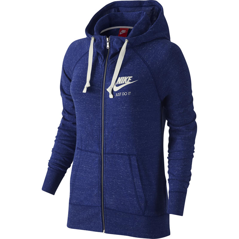 Gym Vintage FZ Hoodie Deep Royal Blue/Sail