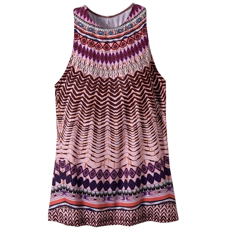 Boost Printed Top Violet Sol