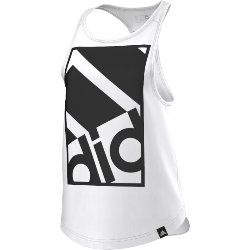 Framed Logo Tank White