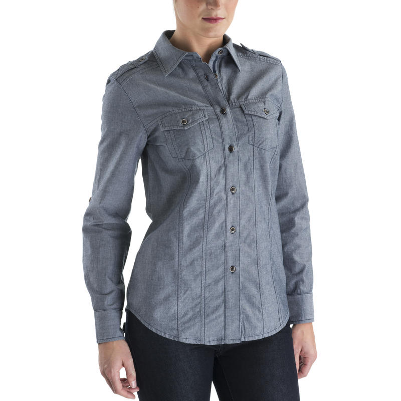 Robin LS Shirt Midnight Blue