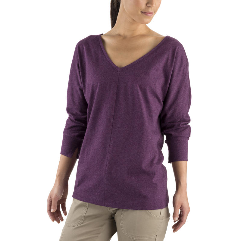 Agada LS Top Mulberry Heather