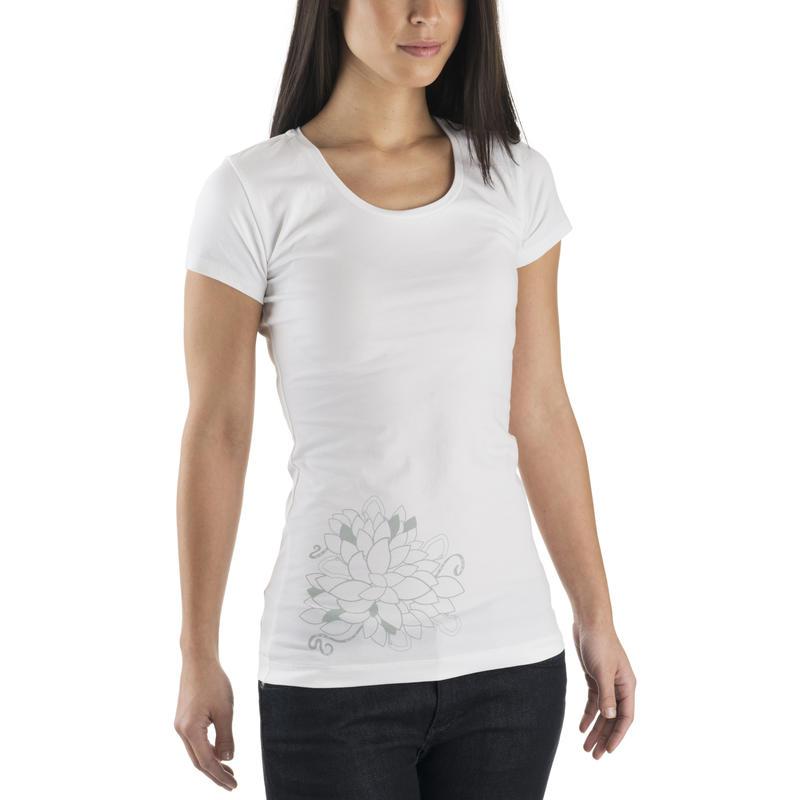 T-shirt Origins Graphique fleur Cara blanche