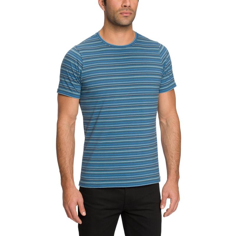 Basis Stripe T-Shirt Pacific Stripe