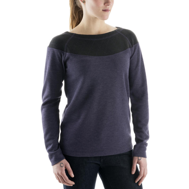 Northwind Sweater Purple Velvet/Eclipse