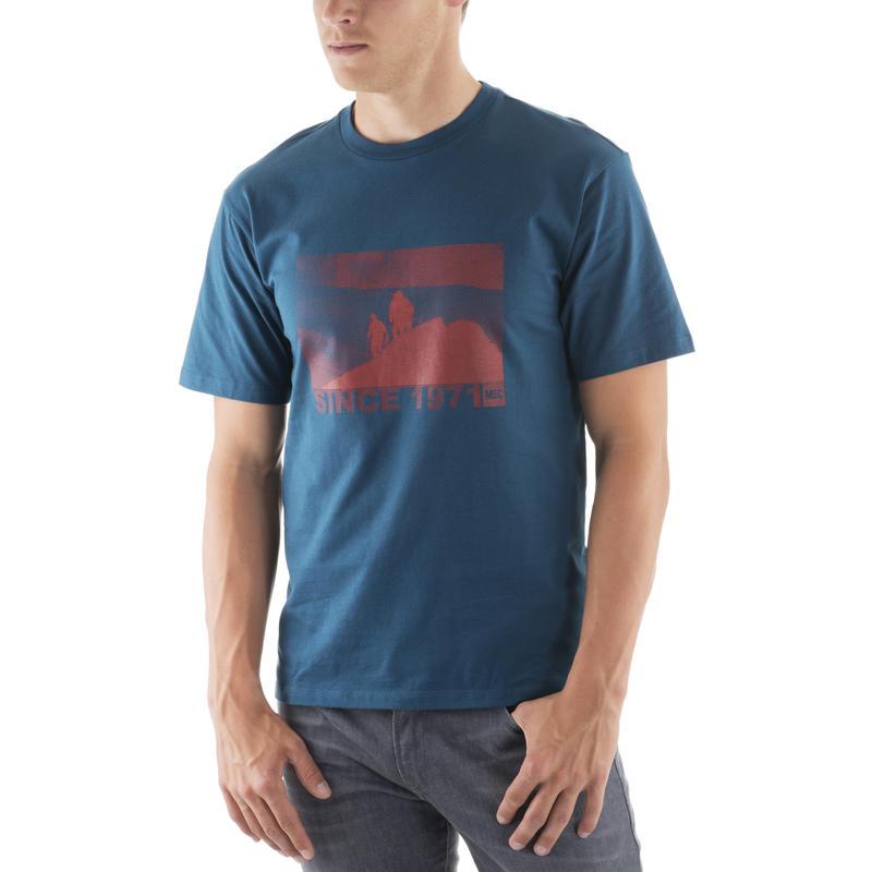 T-shirt Origins Top of the World pétrel