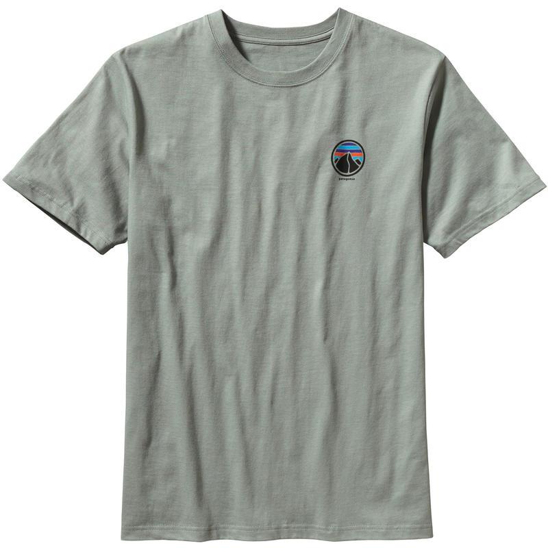 T-shirt River Logo Vert-de-gris