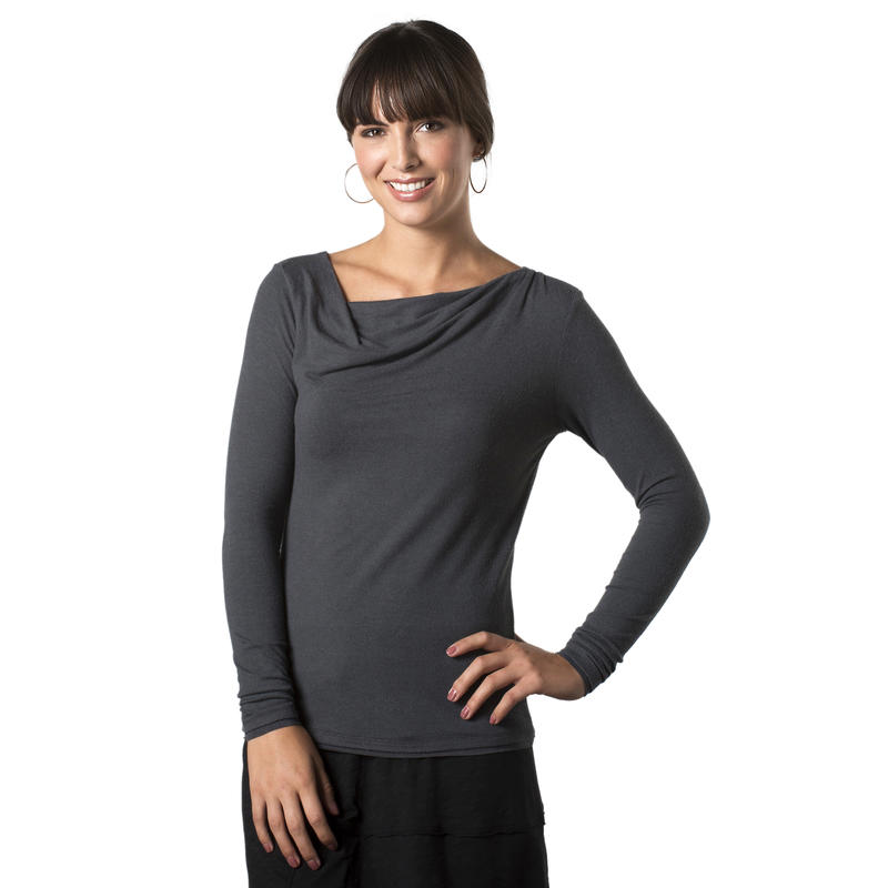 Revery Long-Sleeved Shirt Dark Graphite