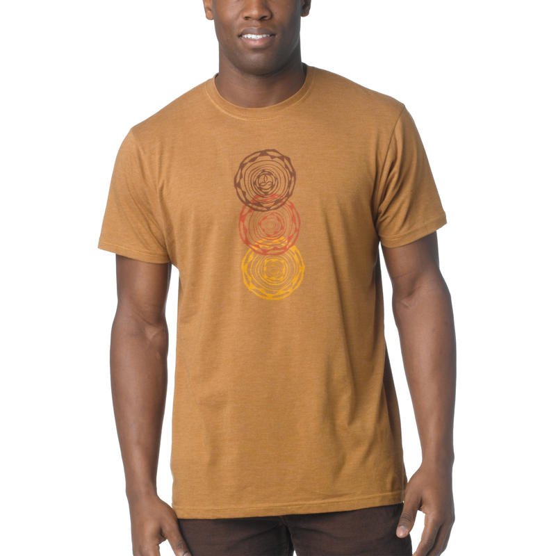 Linked T-Shirt Dark Ginger