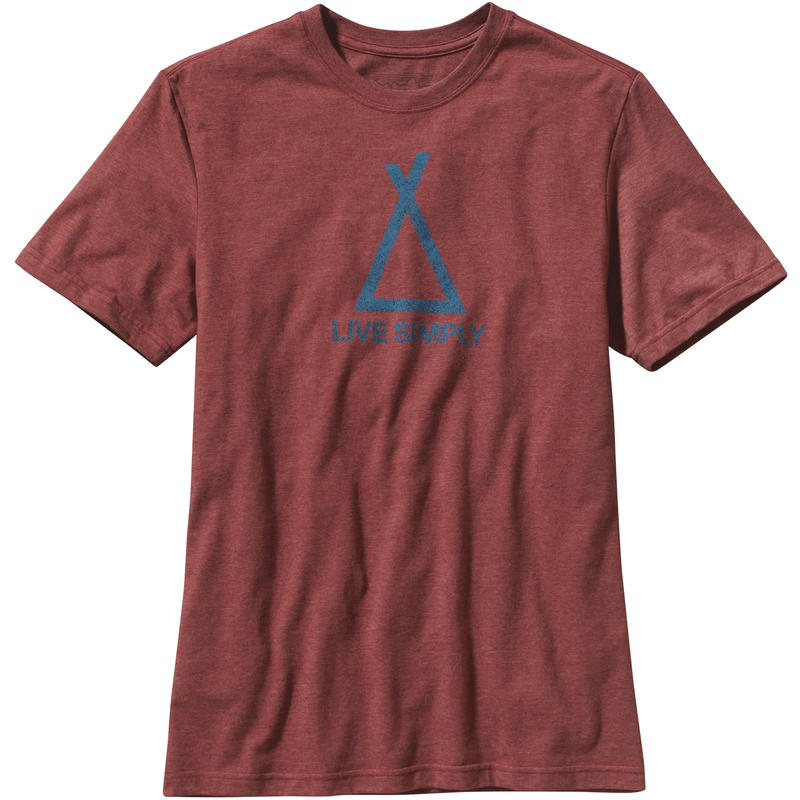 Tent Life T-shirt Rusted Iron