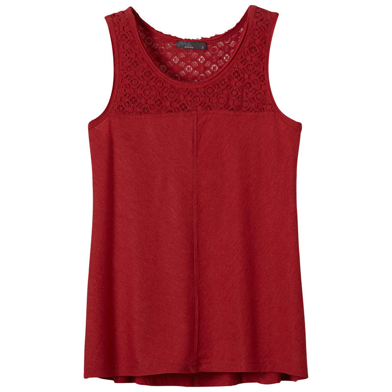 Cassi Tank Sunwashed Red