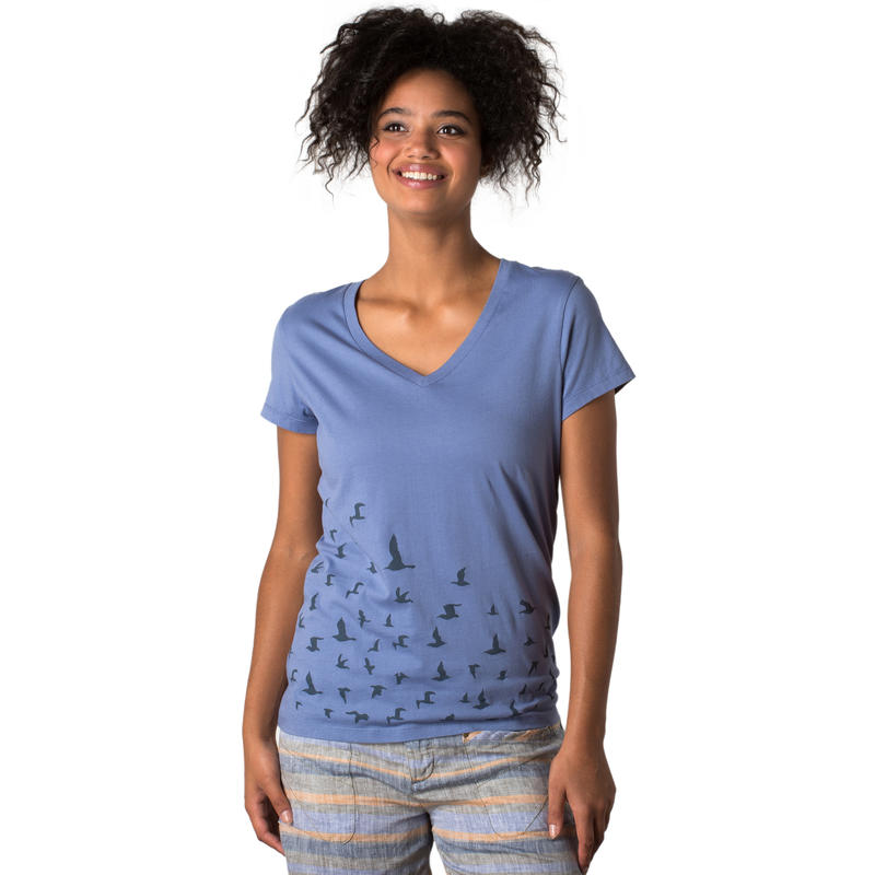 T-shirt Flight Indigo voilé