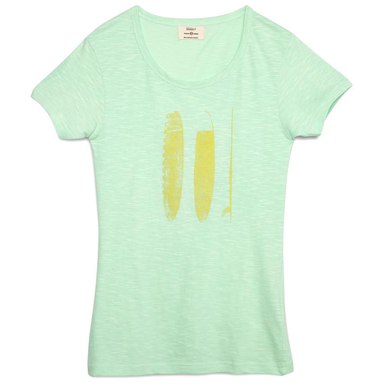 T-shirt Vintage SUP Menthe
