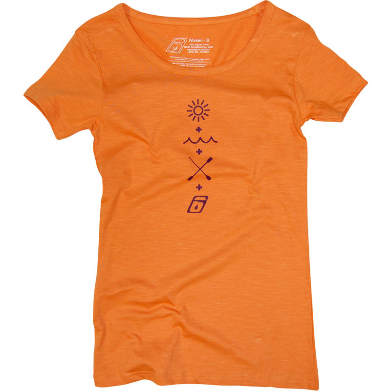 T-shirt Mathboard Abricot
