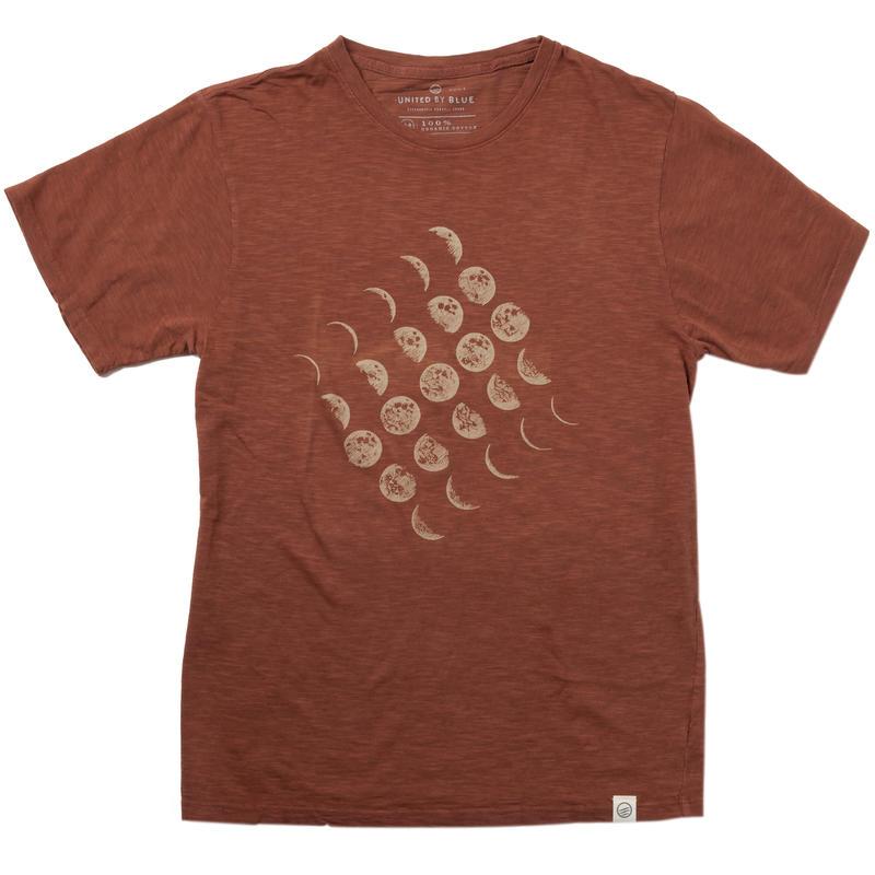 T-shirt Moon Cycle Séquoia