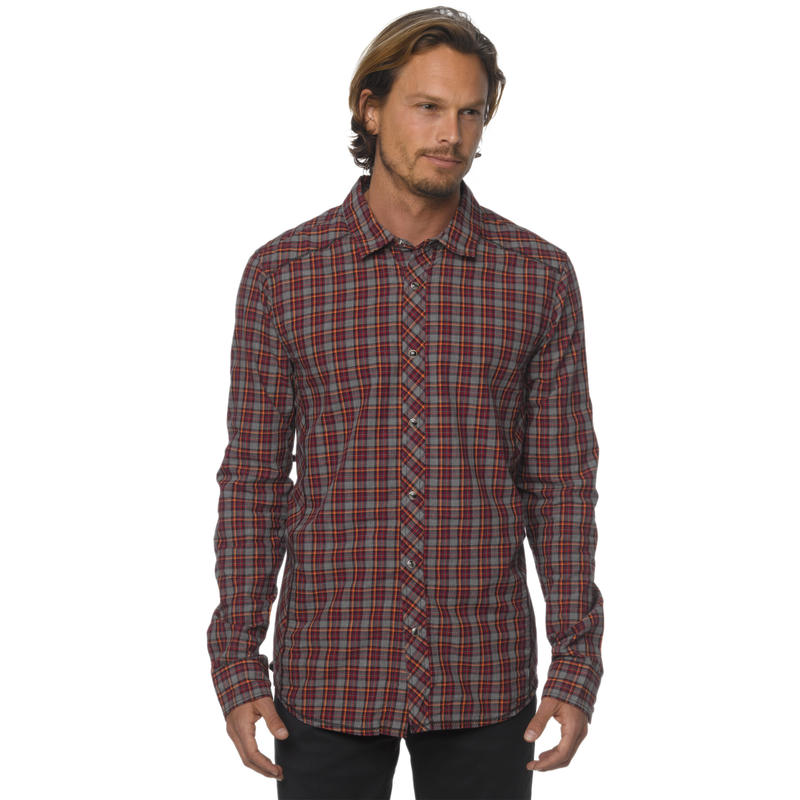Archer Long Sleeve Shirt Grey