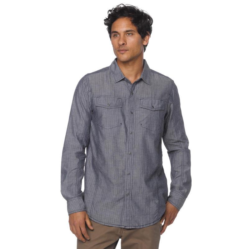 Hollis Long Sleeve Shirt Indigo