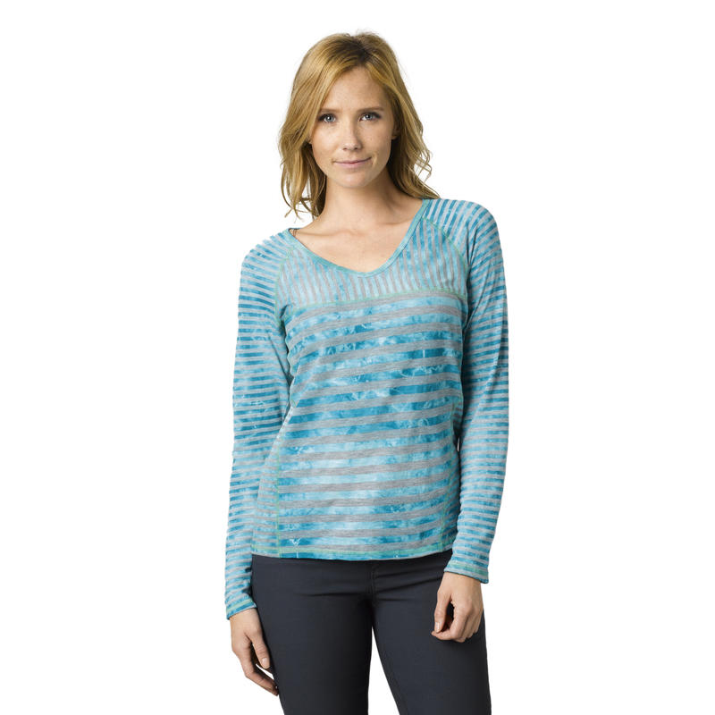 Jaime Long-Sleeved Top Cast Blue