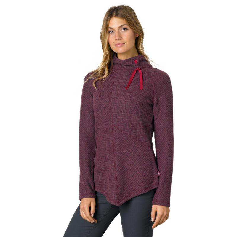 Mattea Sweater Plum Red
