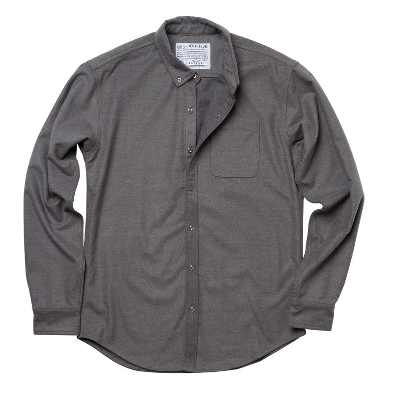 Banff Long Sleeve Shirt Grey
