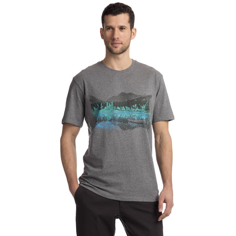 Homewaters T-Shirt Dark Grey Heather Homewaters Graphic