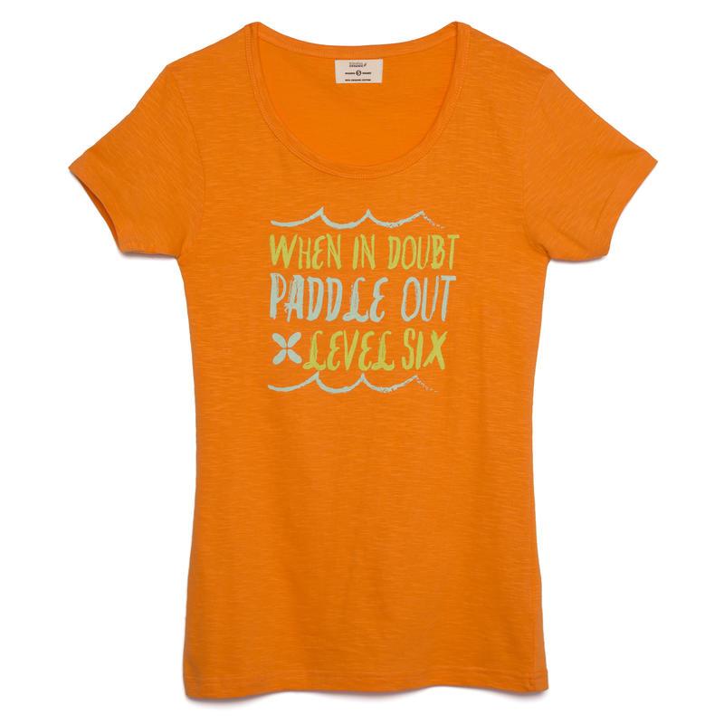 T-shirt Paddle Out Orange