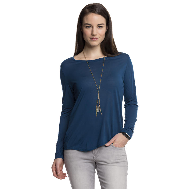 In The Know Long-Sleeved Top Poseidon
