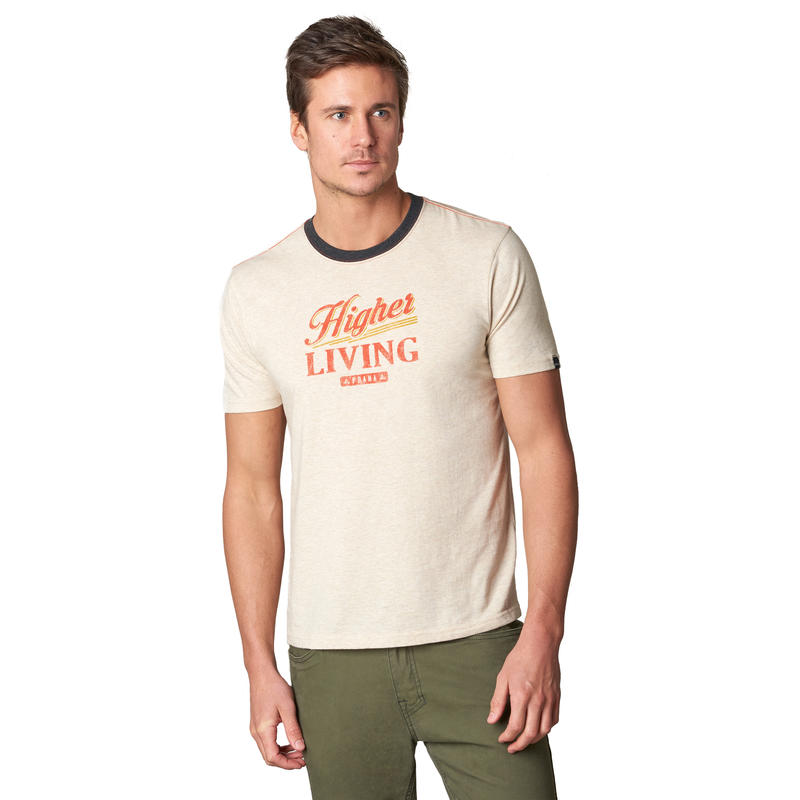 T-shirt Higher Living Ringer Pierre
