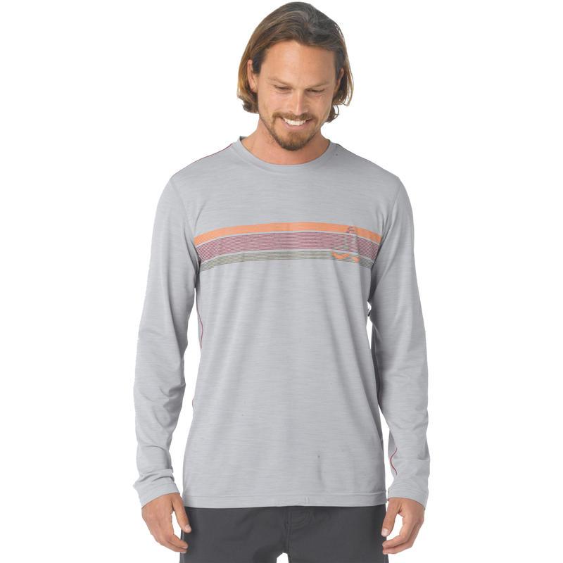 Calder Long Sleeve Top Light Grey