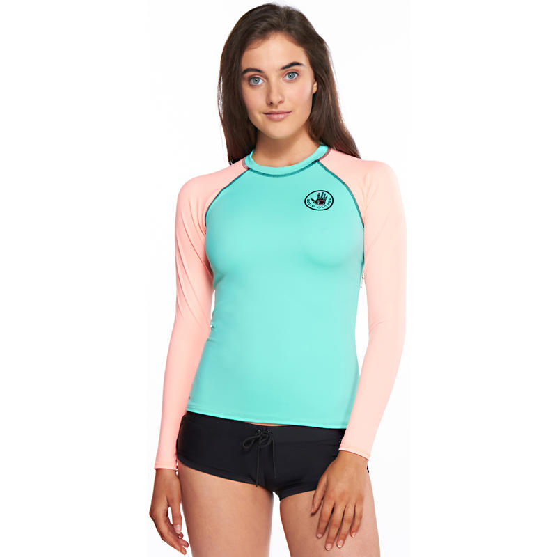 Smoothie Long Sleeve Rashguard Lagoon