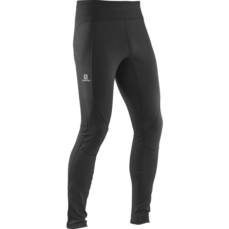 Trail Windstopper Tights Black