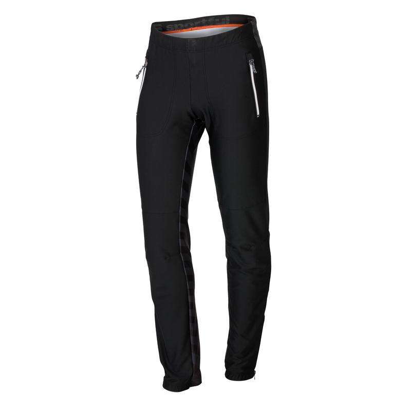 Pantalon Rythmo Noir/Gris foncé