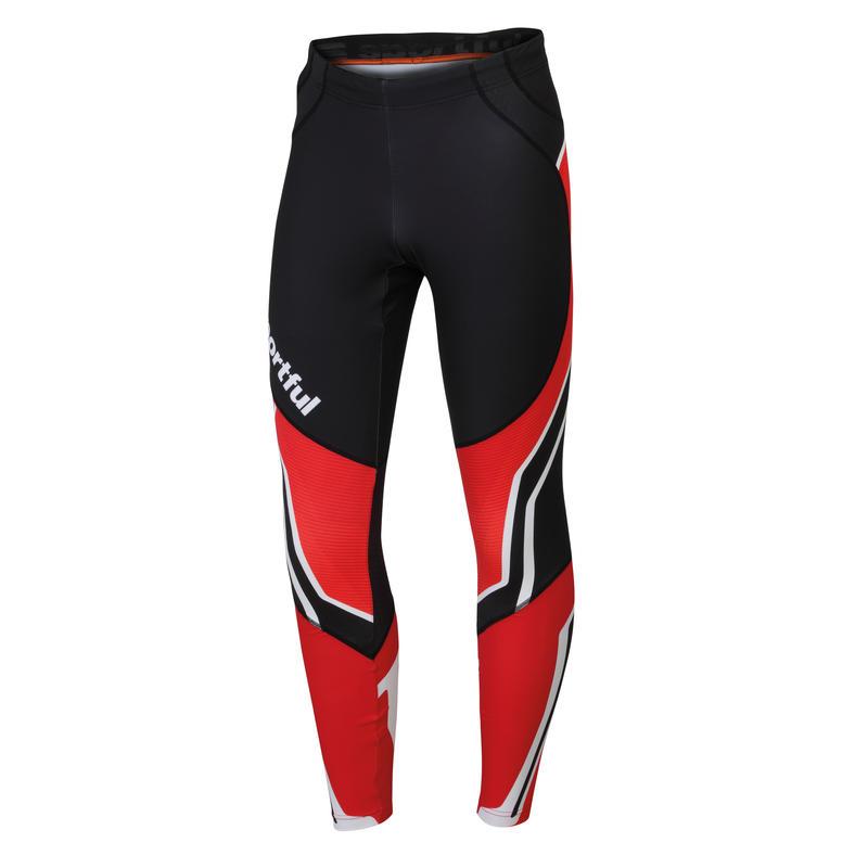 Worldloppet Tights Black/Red
