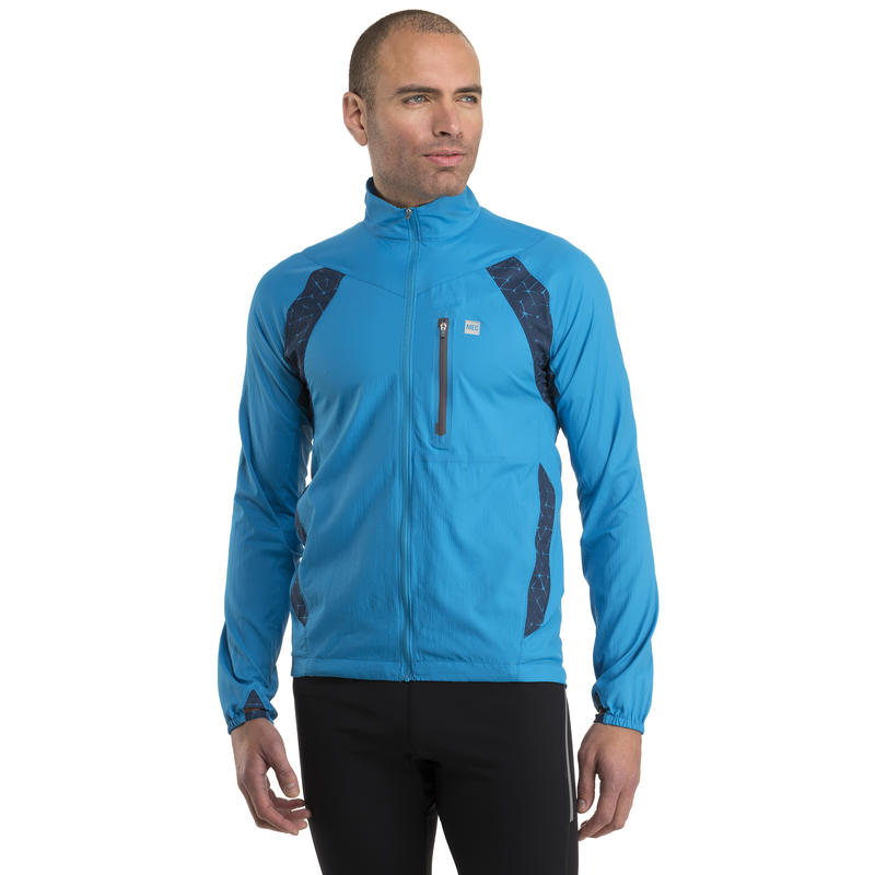 Interceptor Jacket Regatta/Abyss-Regatta Galvanized Print